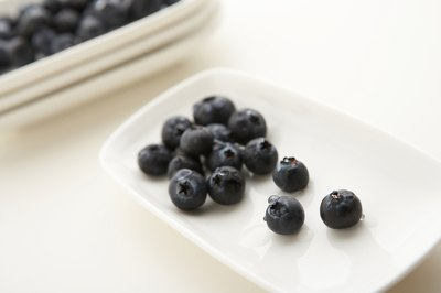 Blueberries are also rich in antioxidants.
