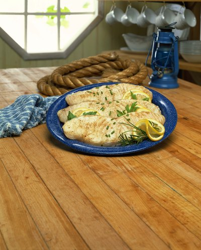 Halibut filets