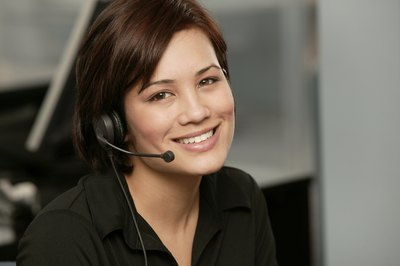 Most customer care objectives are focused on meeting the needs of the customer in a friendly and positive manner.
