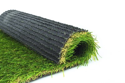 Fake grass is usually easier to maintain than the real thing.