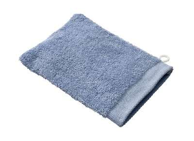 Use a warm washcloth.