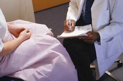 A gynecological exam can shed more light on the situation.