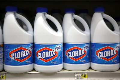 Chlorine bleach is one of the most common household chemicals.