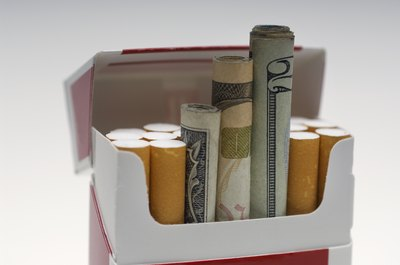 Smoking costs an average of $1,500 a year.