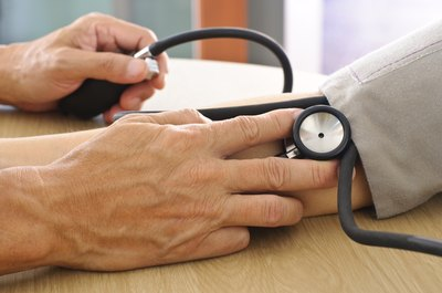 Low blood pressure may be a sign of a rupture.