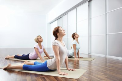 Yoga can help increase flexibility and muscle strength.