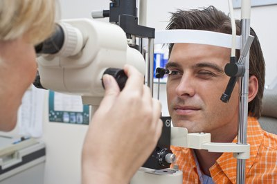 See your eye care professional for a correct diagnosis.