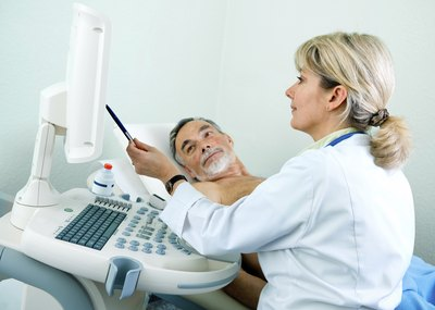 Ultrasound can be used in diagnosis.