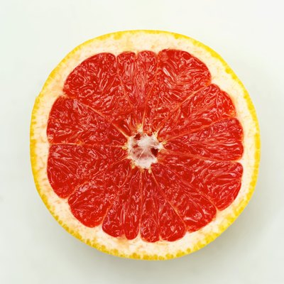 Half a grapefruit