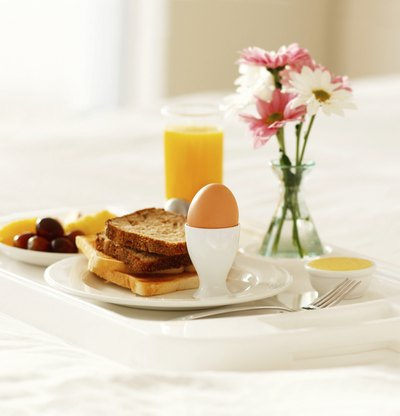 Always start with breakfast as this is provides your body with a healthy metabolism boost to begin the day.