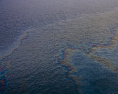 Oil spills are a common cause of water pollution.