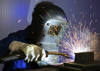 How to start a welding contractor business with pictures ehow - Shipping container end welding ...