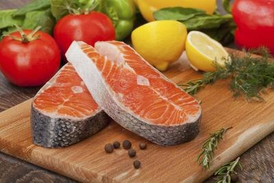 Food posining in salmon is most commonly caused by the toxins in the fish.
