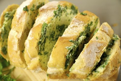 Garlic and herb roll