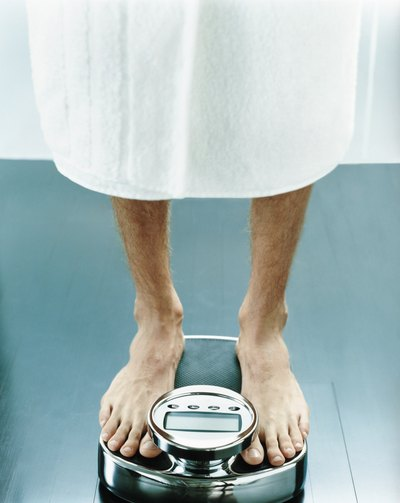 Let your doctor know if you've experienced any sudden weight loss
