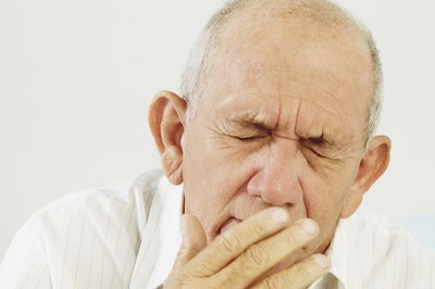 Seasonal allergies can cause a great deal of sneezing and coughing.