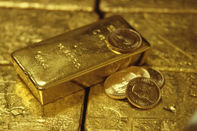 Precious metals like gold can be added to any investment.