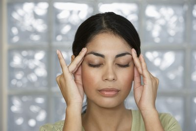 Ocular migraine trigers visual hallucinations and problems.