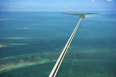 The Straits of Florida lie south of the Florida Keys.