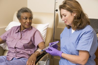 IV certification courses are offered to health care professionals.