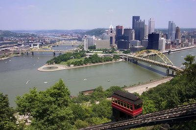 View of Pittsburgh, PA.