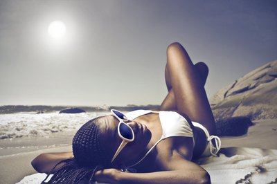 Prolonged sun exposure can lead to the appearance of liver spots