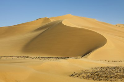 the world's largest non-polar desert, the Sahara, is in Africa