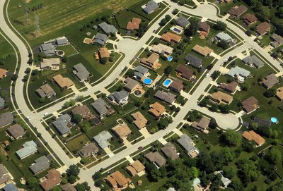 Residential area near Pittsburgh