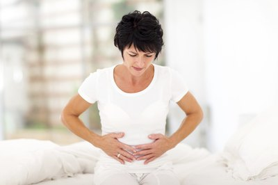 Pelvic cramps may occur after surgery.