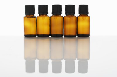 bottles of tea tree oil