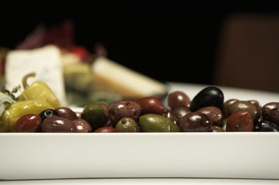 Vegetable such as olives are high in lipids.