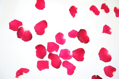 Decorate with flower petals.