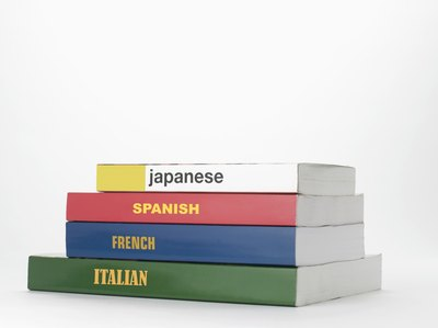 Language books.