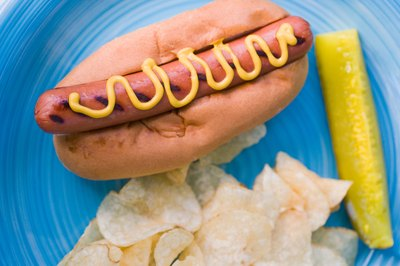 How Much Cholesterol In A Beef Hot Dog