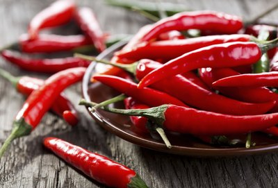 avoid hot spicy foods like peppers