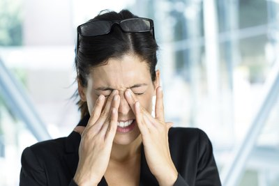 Eye pain may be a side effect.