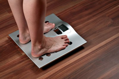 Unexplained weight loss can be the symptom of an undiagnosed medical condition.