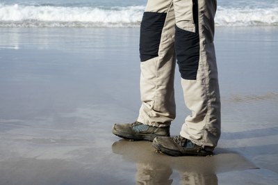 Wear shoes that are both insulated and breathable.