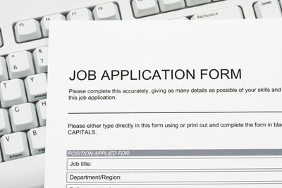 What sort of qualifications should you list on a job application?