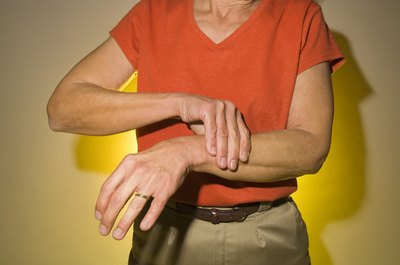 Arthritis can be a cause of left arm pain
