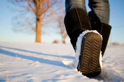 How do you keep sweaty feet warm during cold weather.