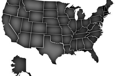 Cut apart a map of the United States and put it back together.