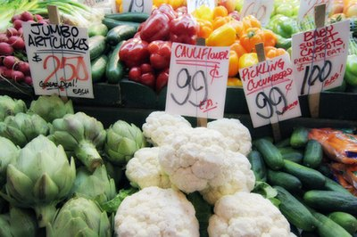 Your grocery budget depends on the type of foods you purchase.