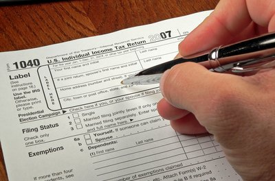 Individual taxpayers file their income taxes using IRS Form 1040.