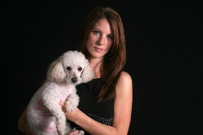 Small white dogs such as poodles are prone to shaking syndrome.