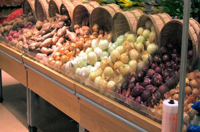Buying produce in season will cut your costs.