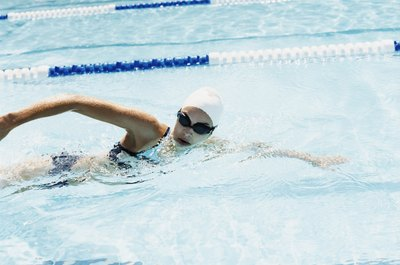 Swimming sidestroke puts less strain on the wrist.