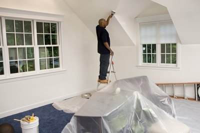 Painting your home is not a tax deduction.