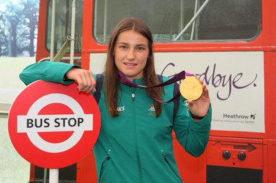Irish boxer Katie Taylor dazzled boxing experts at the 2012 Olympic games.