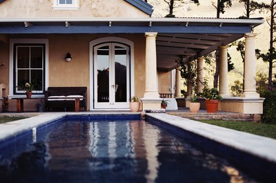An appraisal will value a permanent in-ground pool.